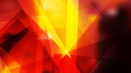 Black Red and Yellow Geometric Shapes Background Illustrator