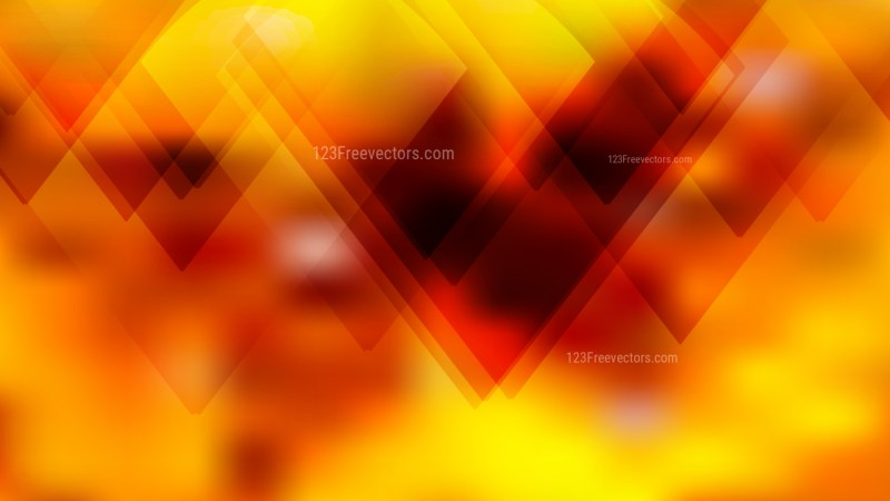 Black Red and Yellow Lines Stripes and Shapes Background Design
