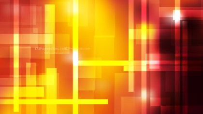 Abstract Black Red and Yellow Lines Stripes and Shapes Background Image