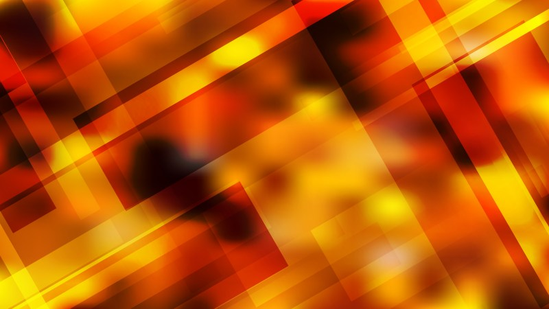 Black Red and Yellow Geometric Shapes Background