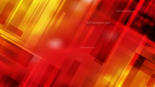 Black Red and Yellow Geometric Abstract Background
