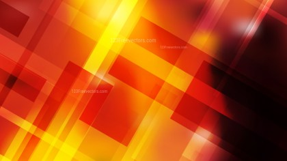 Abstract Geometric Black Red and Yellow Background Vector Art