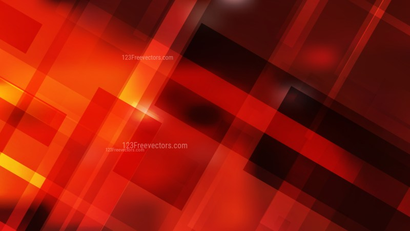 Black Red and Yellow Modern Geometric Background Illustration