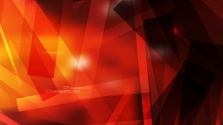 Abstract Geometric Black Red and Yellow Background