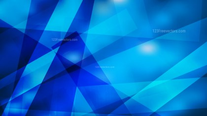 Blue Lines Stripes and Shapes Background Vector Graphic