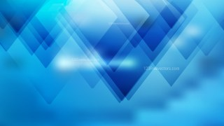 Blue Modern Geometric Background