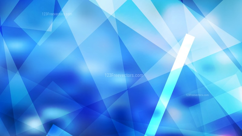 Abstract Blue Modern Geometric Background