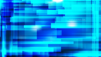 Blue Modern Geometric Shapes Background Image