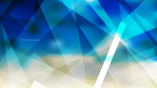 Abstract Blue and Beige Geometric Shapes Background