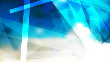 Blue and Beige Geometric Shapes Background Design