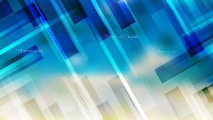 Blue and Beige Lines Stripes and Shapes Background Illustrator