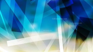 Blue and Beige Modern Geometric Shapes Background Vector Illustration