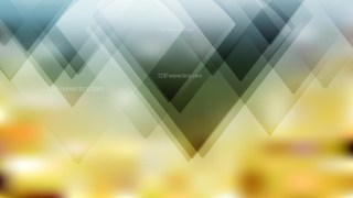 Abstract Blue and Gold Geometric Background Vector Image
