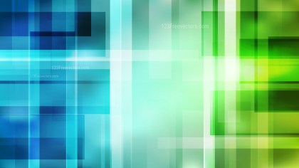 Blue and Green Lines Stripes and Shapes Background Graphic