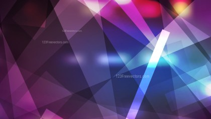 Geometric Abstract Blue and Purple Background