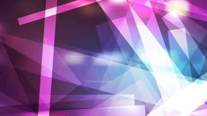 Blue and Purple Lines Stripes and Shapes Background Vector Graphic