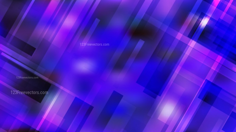 Abstract Blue and Purple Modern Geometric Background