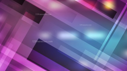 Abstract Blue and Purple Geometric Background