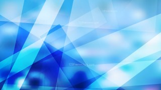 Blue and White Modern Geometric Background Illustration