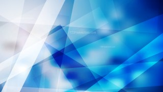 Blue and White Geometric Background Illustrator