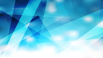 Abstract Blue and White Modern Geometric Shapes Background Design