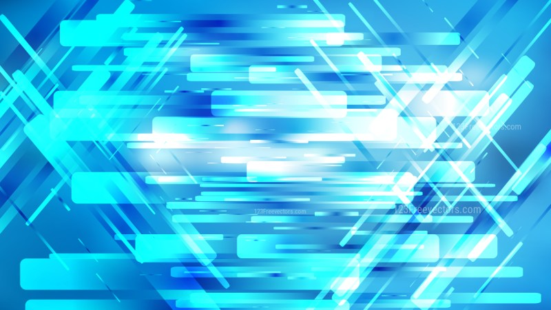 Geometric Abstract Blue and White Background Vector