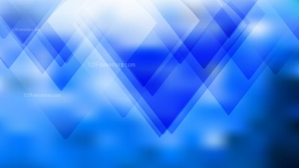 Blue and White Geometric Background