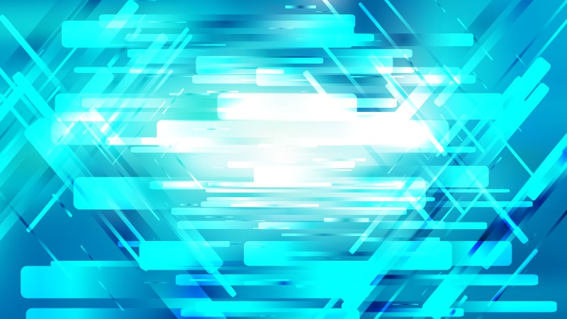Blue and White Modern Geometric Shapes Background