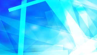 Blue and White Modern Geometric Shapes Background Image