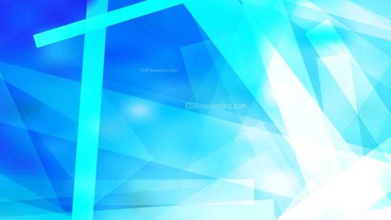 Blue and White Modern Geometric Shapes Background Image