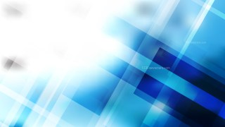 Abstract Blue and White Modern Geometric Shapes Background