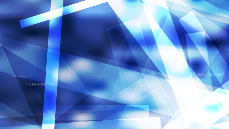 Blue and White Geometric Background Illustrator