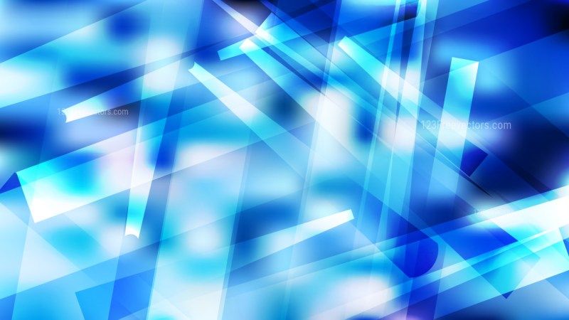 Abstract Blue and White Modern Geometric Background Illustrator