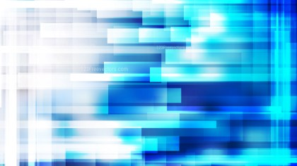 Blue and White Modern Geometric Shapes Background Vector Art