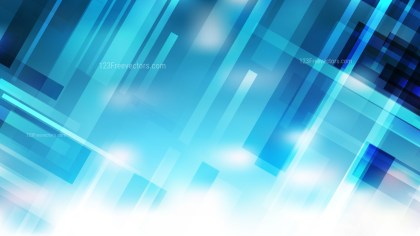 Blue and White Geometric Shapes Background