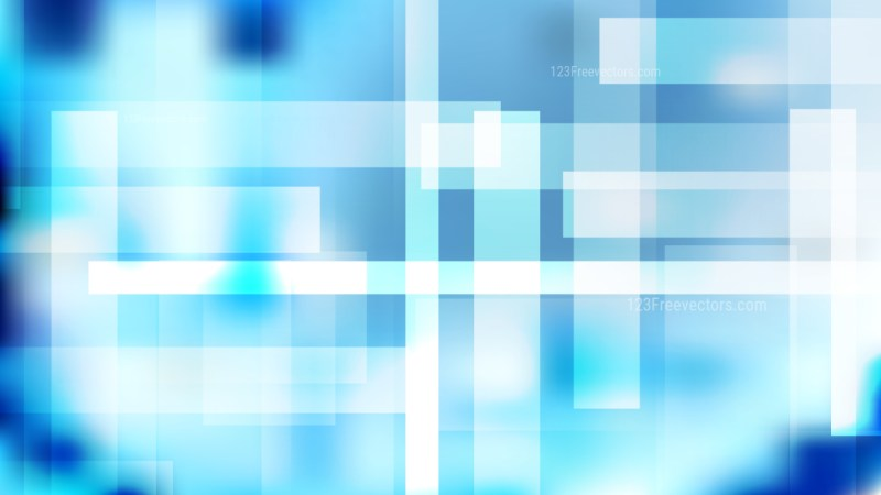 Abstract Blue and White Geometric Background Vector Art