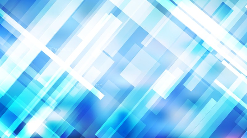 Abstract Blue and White Lines Stripes and Shapes Background Vector Image