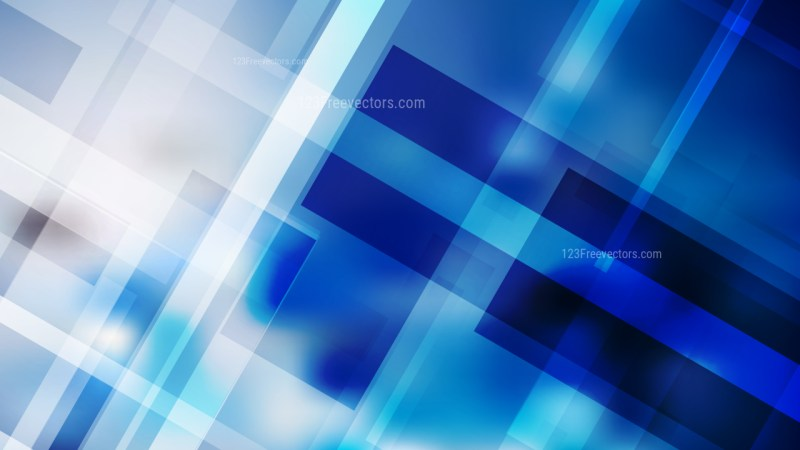 Abstract Blue and White Modern Geometric Background