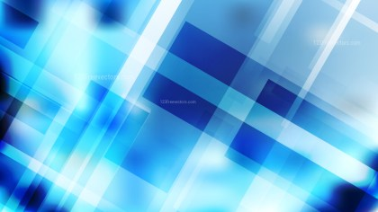 Blue and White Lines Stripes and Shapes Background