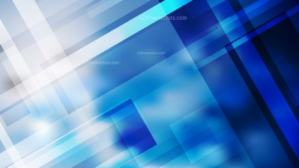 Abstract Blue and White Modern Geometric Shapes Background Illustrator