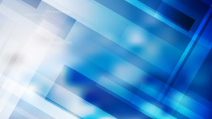Abstract Blue and White Lines Stripes and Shapes Background Image