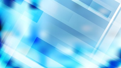 Abstract Blue and White Geometric Background