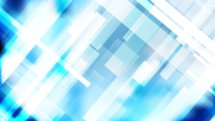 Blue and White Lines Stripes and Shapes Background Vector Graphic