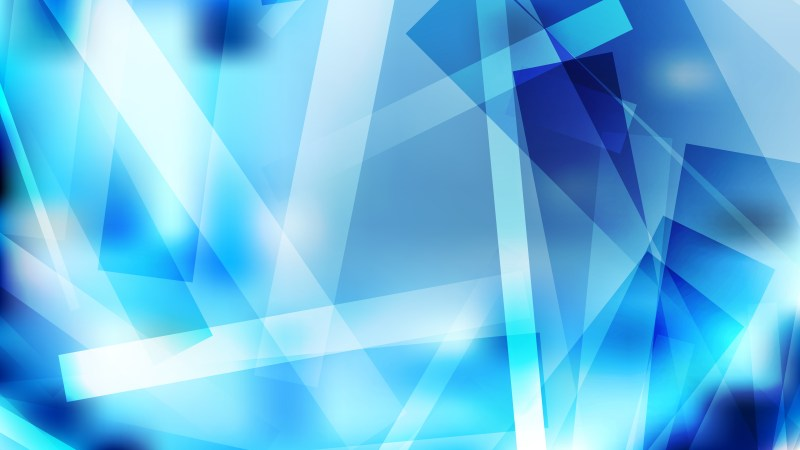 Abstract Blue and White Modern Geometric Shapes Background Vector