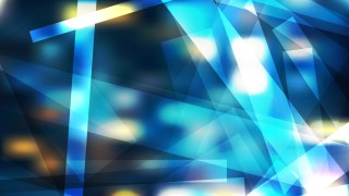 Abstract Blue and Yellow Modern Geometric Shapes Background Vector Graphic