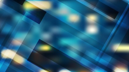 Blue and Yellow Geometric Shapes Background