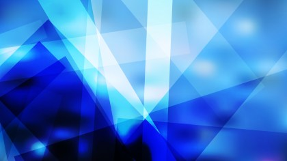 Blue Black and White Geometric Shapes Background
