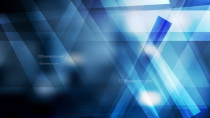 Blue Black and White Geometric Abstract Background