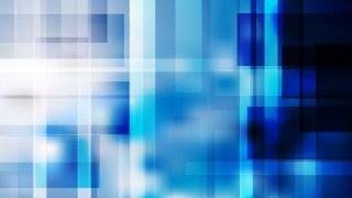 Abstract Blue Black and White Geometric Background