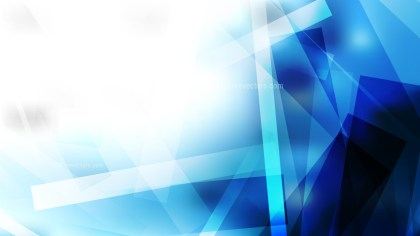 Abstract Blue Black and White Geometric Shapes Background Vector Art